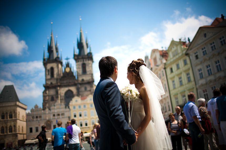 Организация свадьбы в Праге