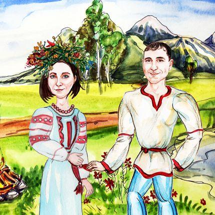 Мультфильм о женихе и невесте