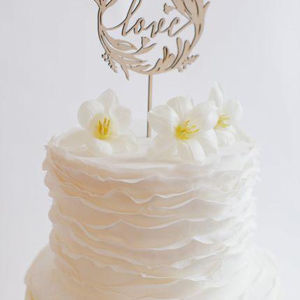 Украшение для торта Gold Rose