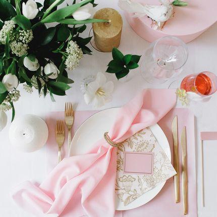 """Оформление стола - стол молодожёнов """"Gold rose"""""""