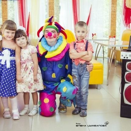 Проведение детского праздника, 1 час