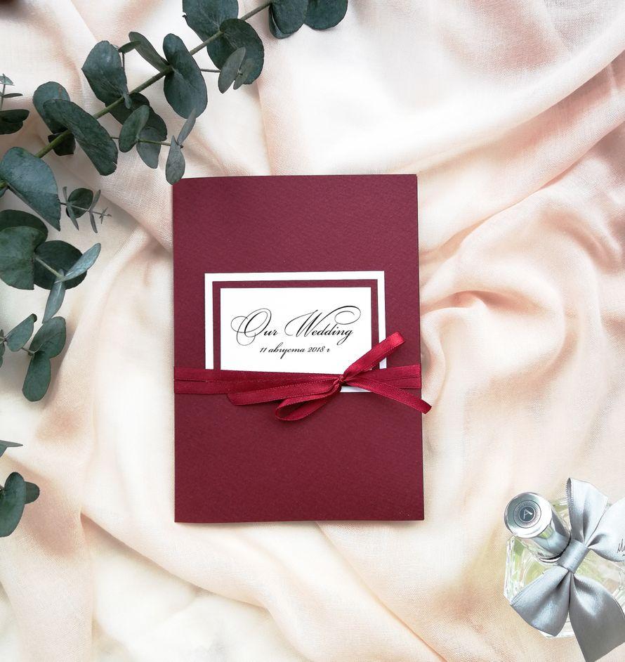 Комплект приглашений - Our wedding +