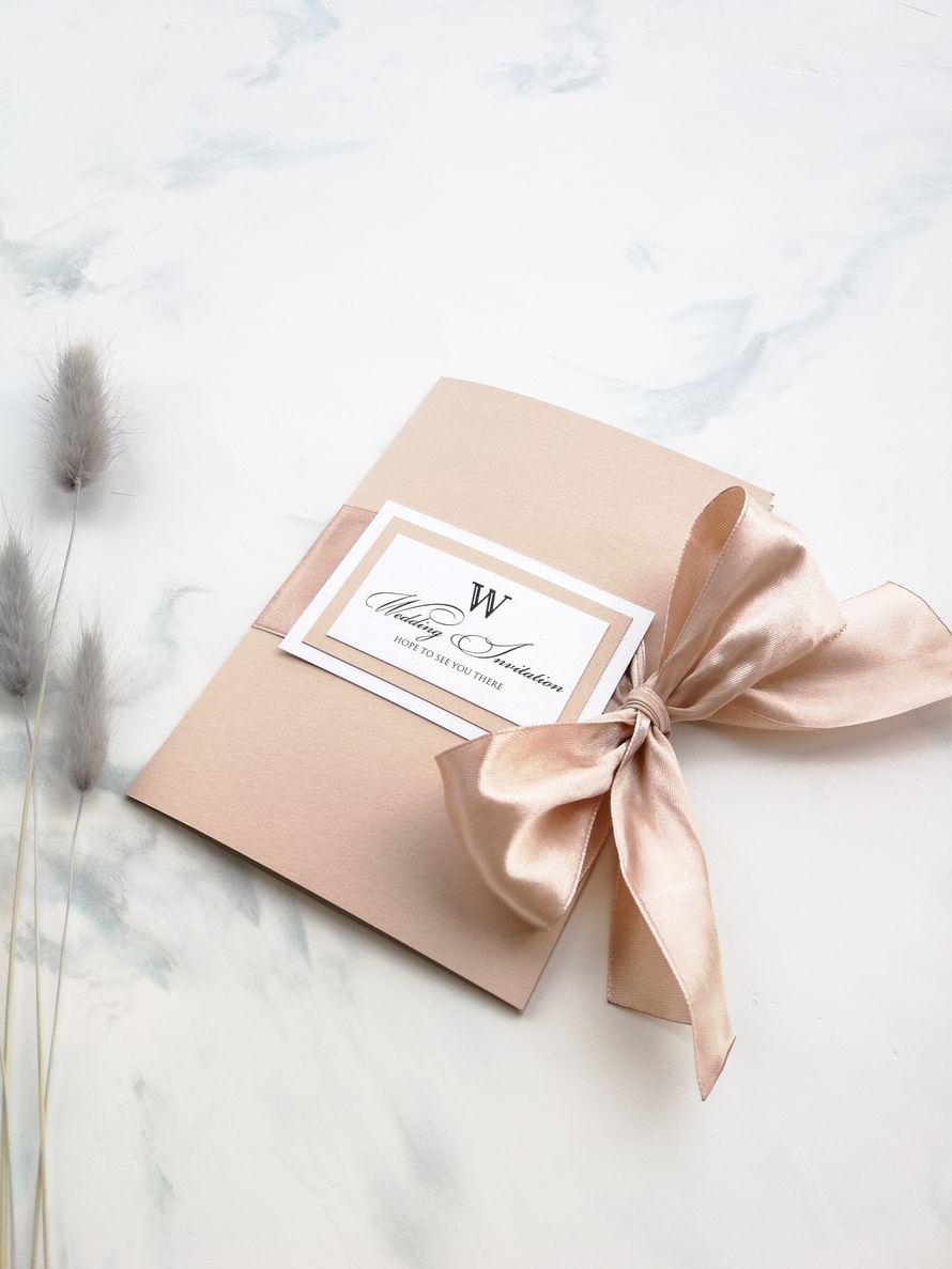 Комплект приглашений - Our wedding Стандарт