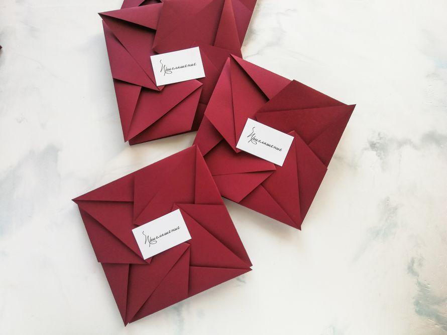 Комплект Оригами базовый - цвет Пунцовый рассвет