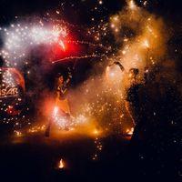 """Огненное шоу """"Бурлеск"""""""