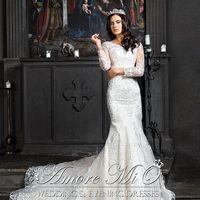 Свадебное платье Тесса с рукавами
