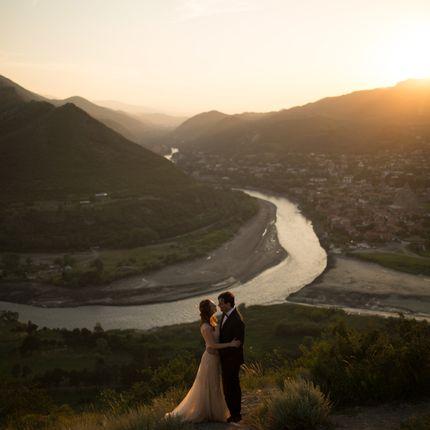 Организация свадьбы с видом на слияние двух рек