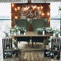 Свадебное оформление от Sunday decor в стиле рустик