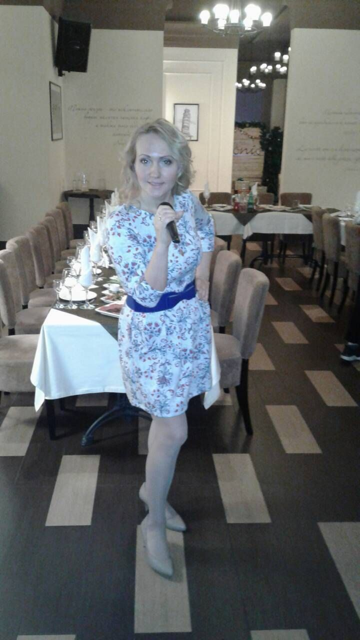 ресторан Антонио - фото 16500546 Ведущая Вера Гущина