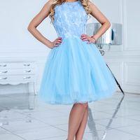 Вечернее платье цвет: голубой размеры: 40-48 6250 руб.