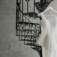 Футуристичное свадебное платье