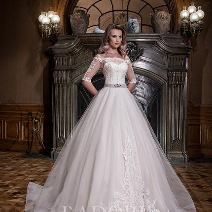 Пышное свадебное платье 1753