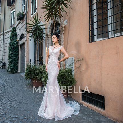 Свадебное платье рыбка MB - 054