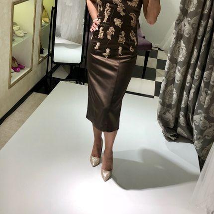 """Коктейльное платье """"Шоколад"""""""