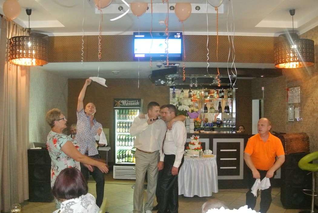 """17 июня, кафе """"Лайм"""", Шушенское  Пели, пили:), плясали, играли... - фото 15747602 Ведущий Серж Morozov"""