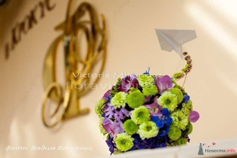 Свадебная композиция из цветов - фото 29412 Cвадебная флористика и декор событий FloraVictoria
