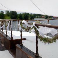 Оформление выездной церемонии на корабле