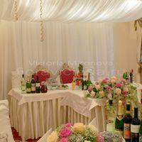 Свадебный шатер, оформление президиума