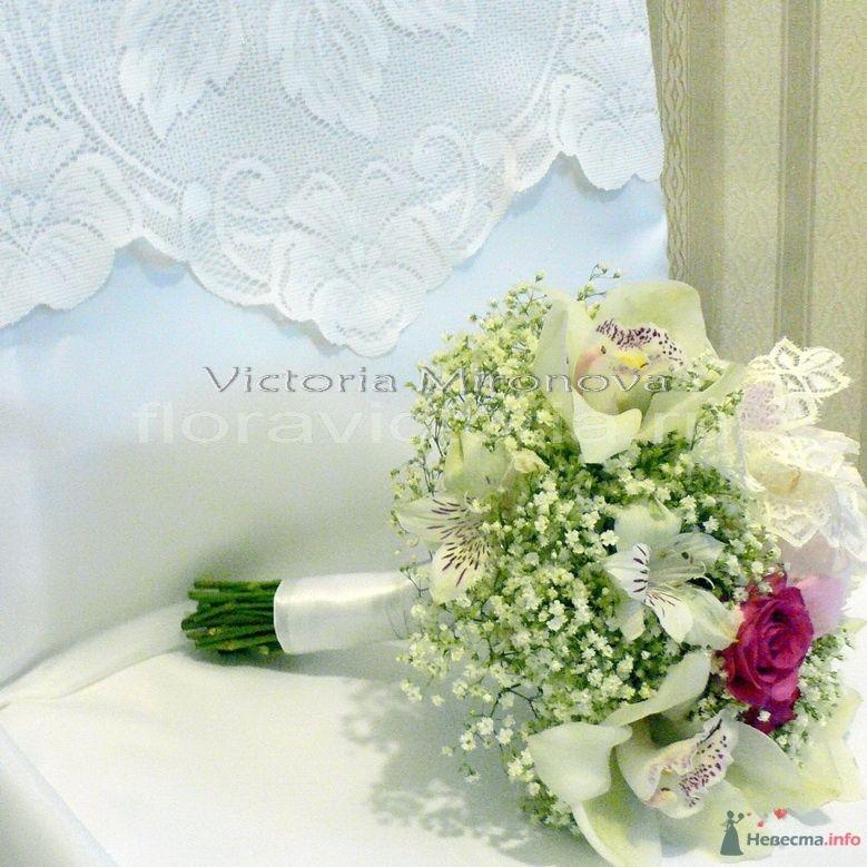 Букет невесты - фото 29433 Cвадебная флористика и декор событий FloraVictoria