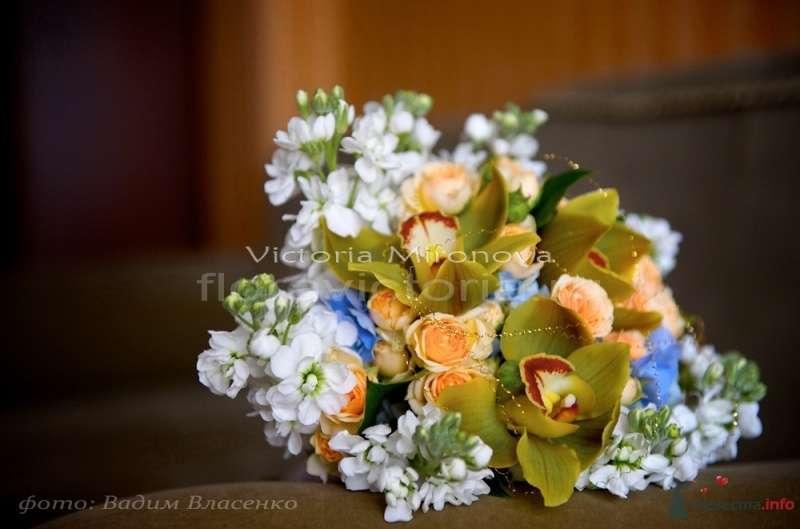 Букет для невесты - фото 29438 Cвадебная флористика и декор событий FloraVictoria