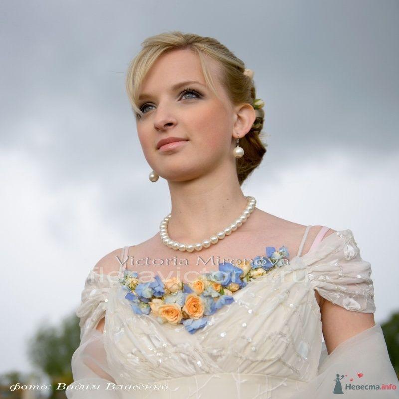 Свадебное украшение из цветов - фото 29440 Cвадебная флористика и декор событий FloraVictoria