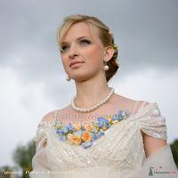 Свадебное украшение из цветов