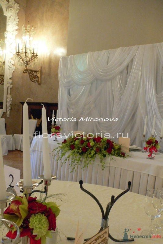 Оформление свадебного торжества - фото 36288 Cвадебная флористика и декор событий FloraVictoria