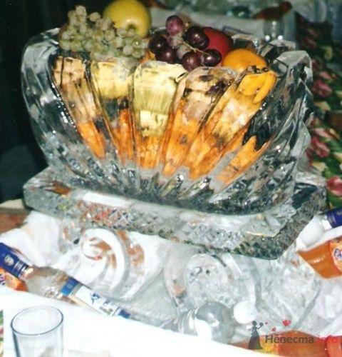 ваза - фото 1308 Ледяные скульптуры