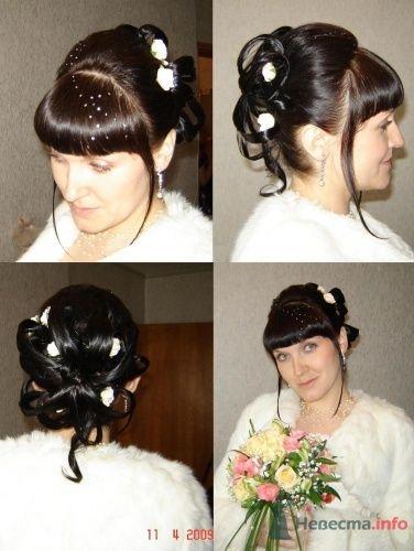 Свадебные прически, стрижки, укладки, макияж - фото 16227 Парикмахер и стилист-визажист - Елена Иванова