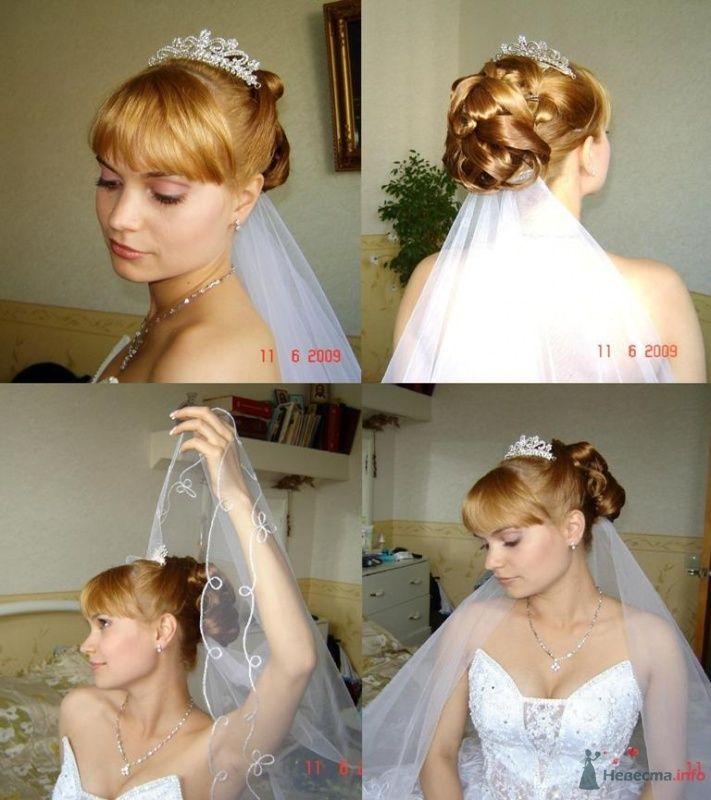 Свадебная прическа, визаж - фото 25129 Парикмахер и стилист-визажист - Елена Иванова