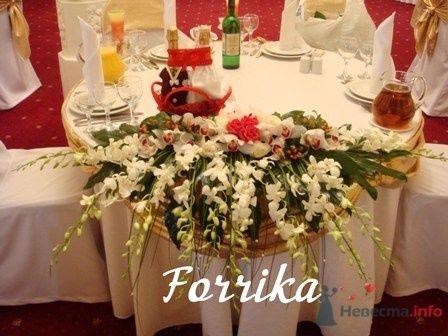 Композиция на стол молодоженов - фото 13979 Невеста01