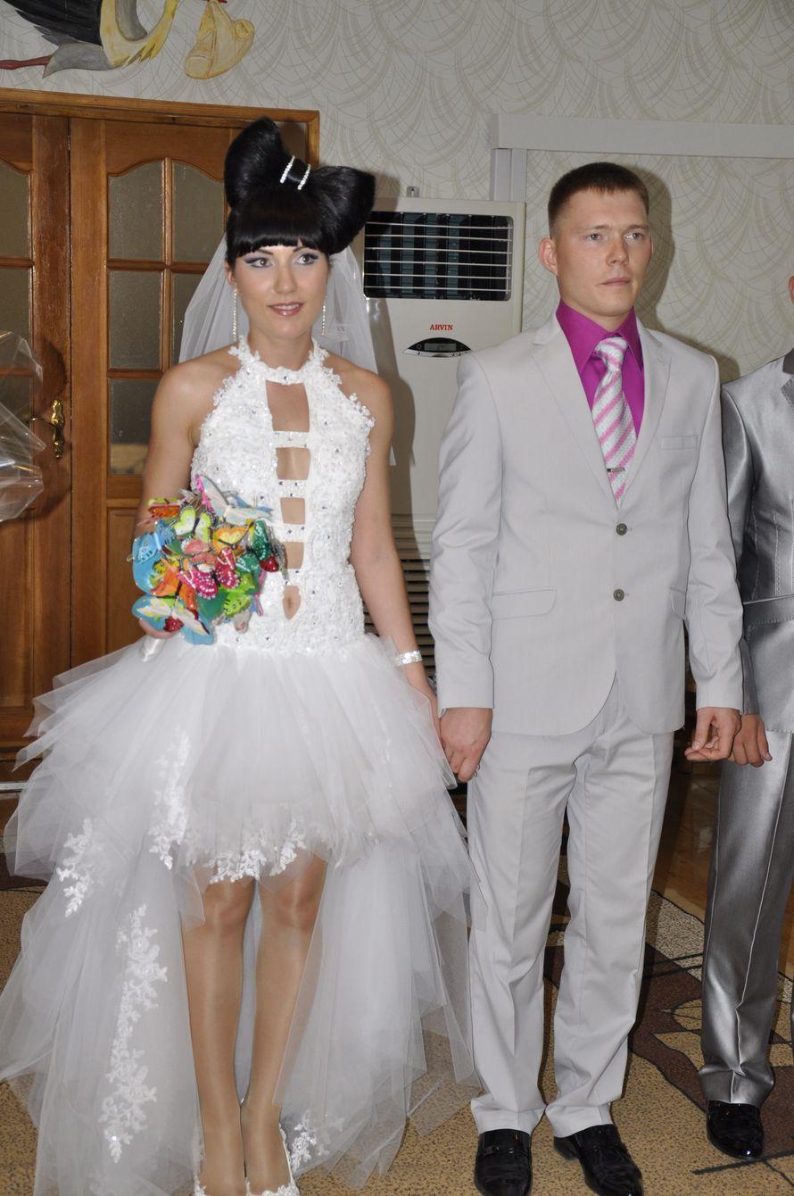 Свадебное платье шила