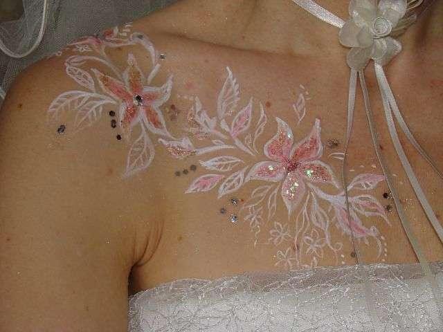 Фото 1007595 в коллекции Свадебный боди-арт - Праздник-проказник - проведение свадьбы