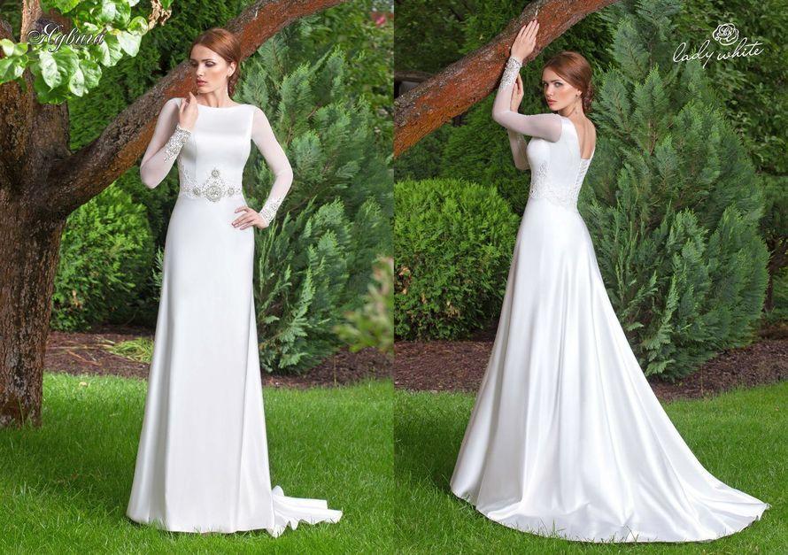 "Фото 8119364 в коллекции Lady White - Beauty of your name - Студия свадебного платья ""Облако любви"""