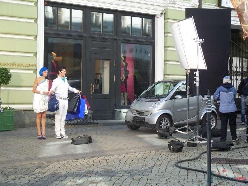 Фото 40843 в коллекции Наши авто в рекламе - Smartnaprokat - свадебный кортеж