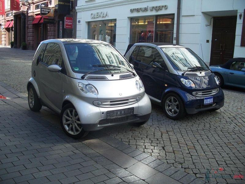 Фото 40845 в коллекции Наши авто в рекламе - Smartnaprokat - свадебный кортеж