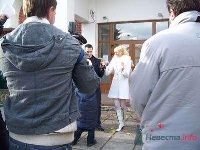 А вот это наши молодожены, ПОЗДРАВЛЯЕМ!!!! - фото 49626 Smartnaprokat - свадебный кортеж