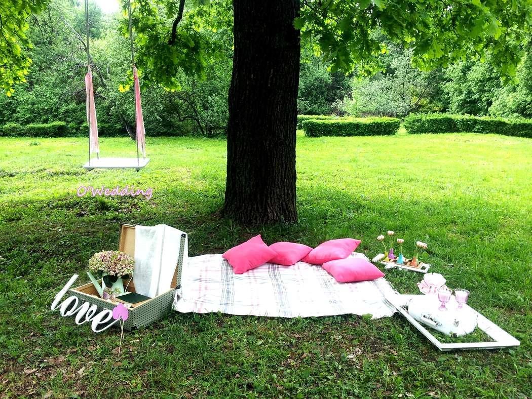 Свадебный пикник на природе своими руками