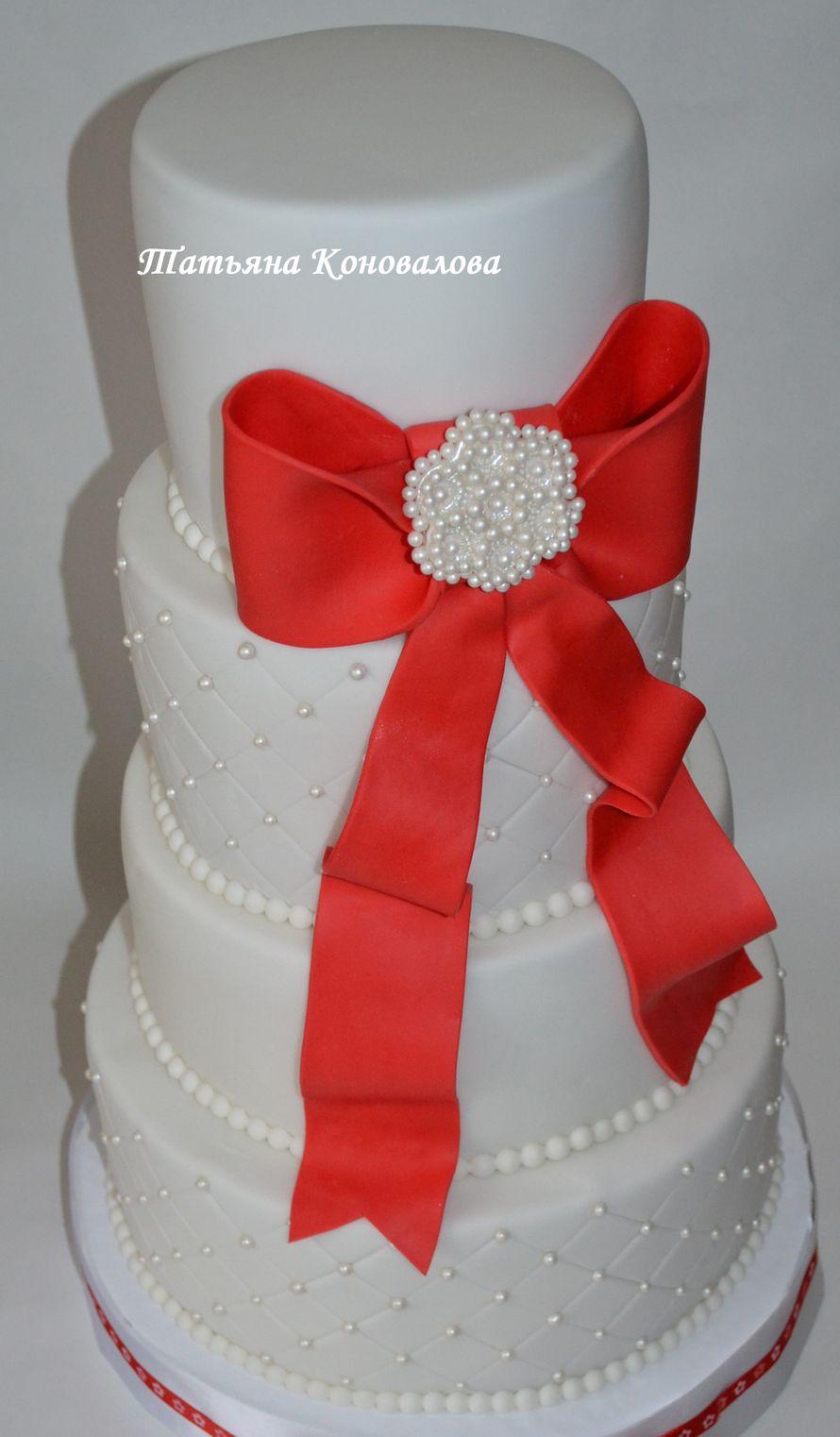 """Фото 1600139 в коллекции Мои свадебные торты - Студия торта """"Сахарная пудра"""""""