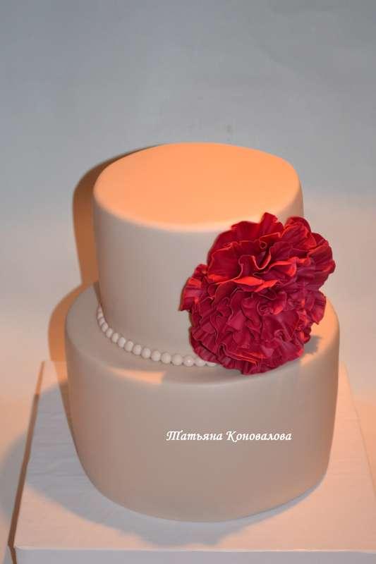 """Фото 1658989 в коллекции Мои свадебные торты - Студия торта """"Сахарная пудра"""""""