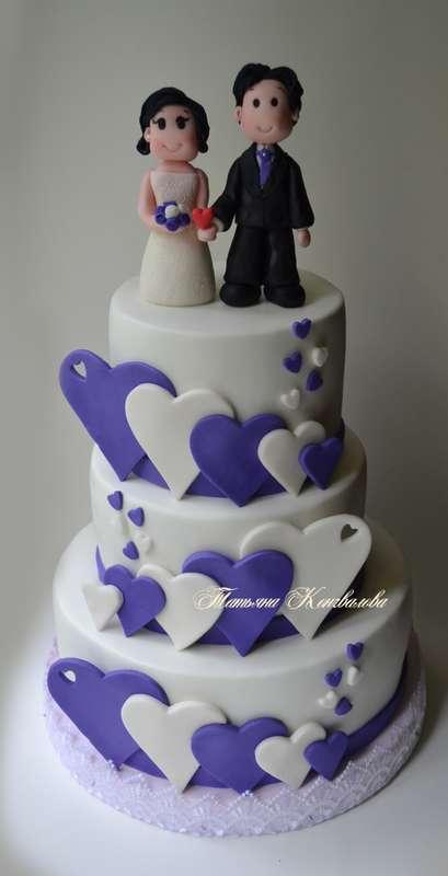 """Фото 2831313 в коллекции Мои свадебные торты - Студия торта """"Сахарная пудра"""""""