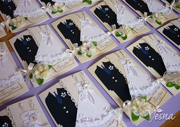 Фото 523011 в коллекции Приглашения - Vesna-Art - аксессуары для свадьбы