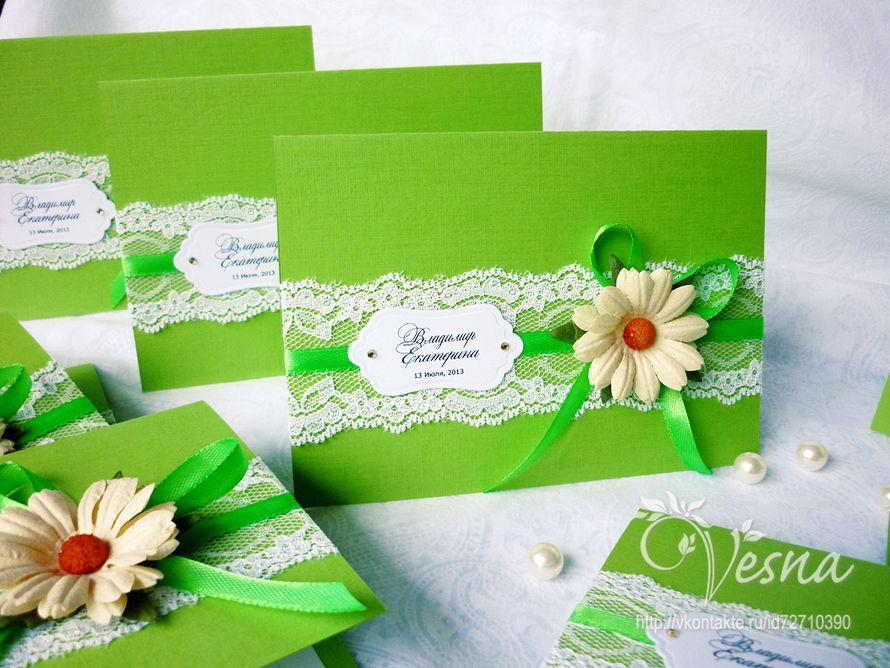 Фото 2459373 в коллекции Приглашения - Vesna-Art - аксессуары для свадьбы
