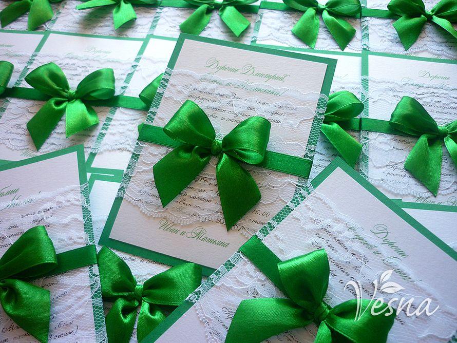 Фото 2459449 в коллекции Приглашения - Vesna-Art - аксессуары для свадьбы