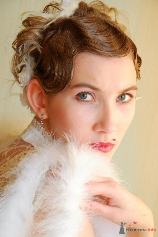 причёска в стиле 30-х годов - фото 67064 Свадебный стилист Татьяна Мартынова