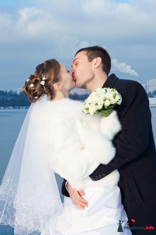свадебная прическа из волос средней длинны - фото 85438 Свадебный стилист Татьяна Мартынова