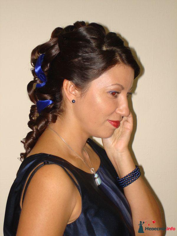 причёска  из длинных волос - фото 85447 Свадебный стилист Татьяна Мартынова