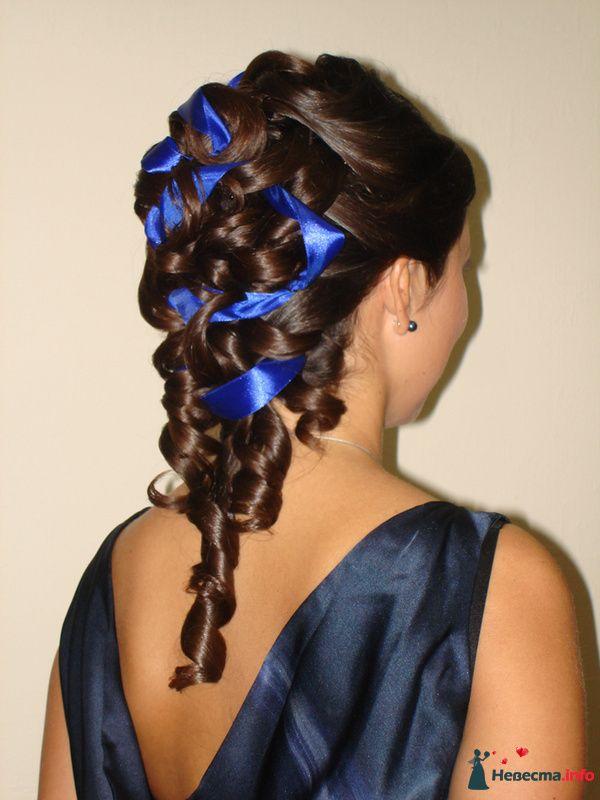 причёска  из длинных волос - фото 85448 Свадебный стилист Татьяна Мартынова