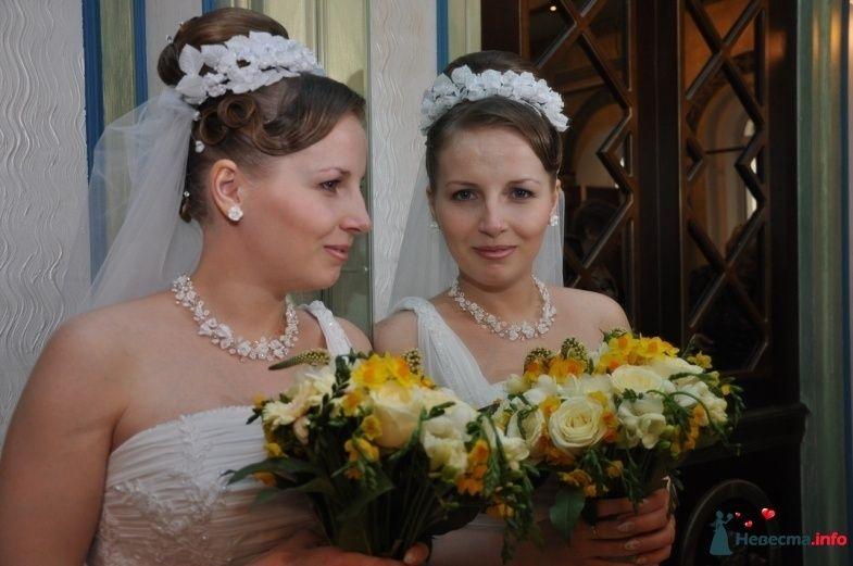 свадебная причёска из волос средней длинны - фото 85465 Свадебный стилист Татьяна Мартынова