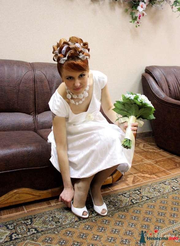 свадебная причёска на коротких волосах - фото 104631 Свадебный стилист Татьяна Мартынова